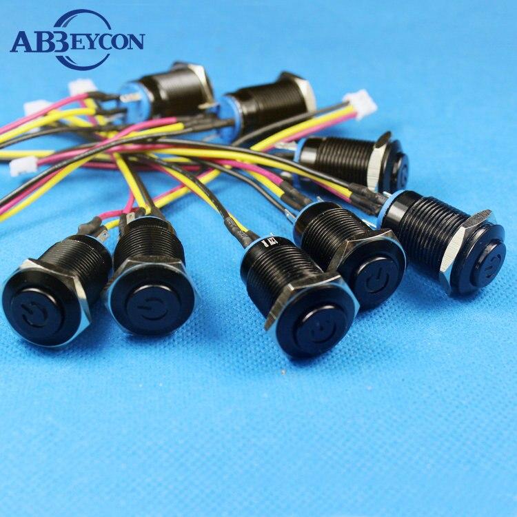 TY 1678Z, proveedor de interruptores personalizados, interruptor momentáneo de poder con cabezal de lavado alto con conector Dupont 2,0