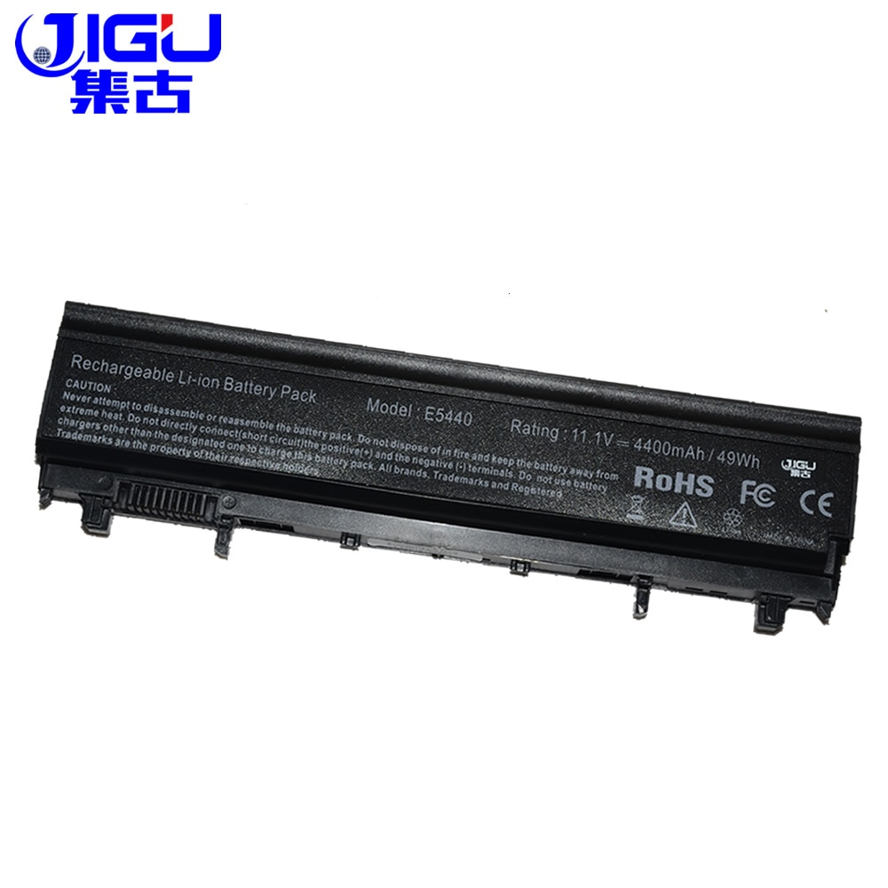 JIGU استبدال بطارية كمبيوتر محمول 0FT6D9 451-BBIF N5YH9 0K8HC 7W6K0 NVWGM 0M7T5F 970V9 VJXMC 1N9C0 97oV9 VV0NF لديل
