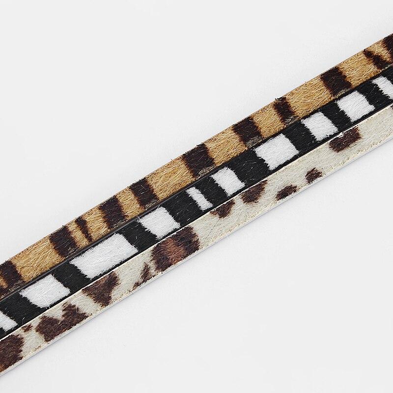 1 medidor 5*2mm encantos cabo de couro do plutônio liso para pulseira colar jóias fazendo descobertas corda cabo material