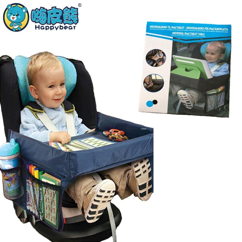 Mesa à prova d água Titular Carrinho De Armazenamento Bandeja Do Assento de Carro Crianças Brinquedos Infantis para Crianças Cores TYM079 4 Mesa Portátil Para Carro