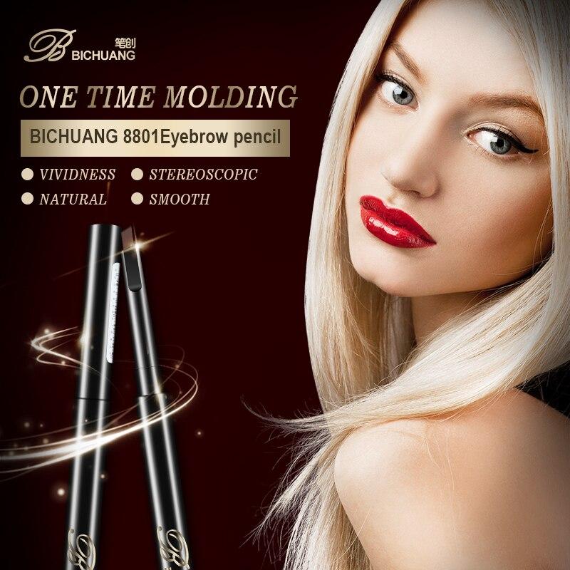 BICHUANG Brand Portable Size Women Eyebrow Pencil Makeup Tool Lady Single Head Natural Long Lasting