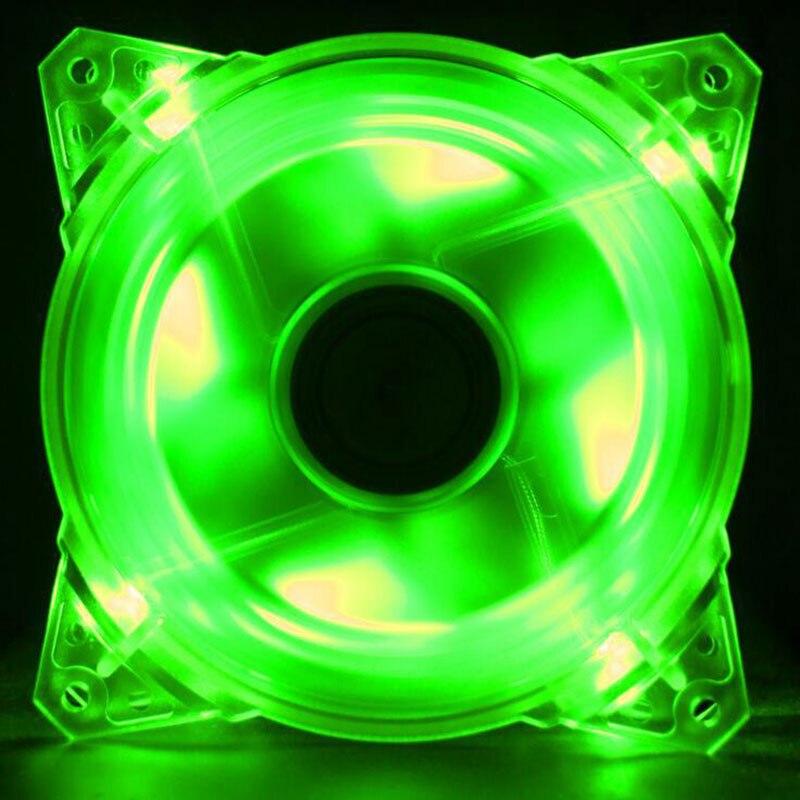 Вентилятор для компьютера, ультратихий, с 9 лезвиями, zero, 12 см, светодиодный, 12 см