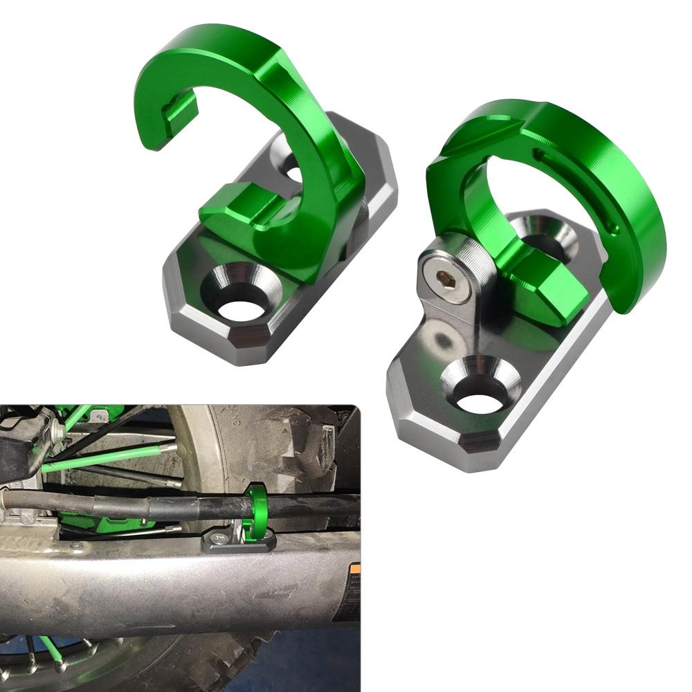 Parte trasera de freno de pinza de freno de abrazaderas de Cable para Kawasaki KX250 KLX250 KX85 KLX140 KX125 KX500 KX250 KX80 KLX650 KX100 KLX140G KLX140L