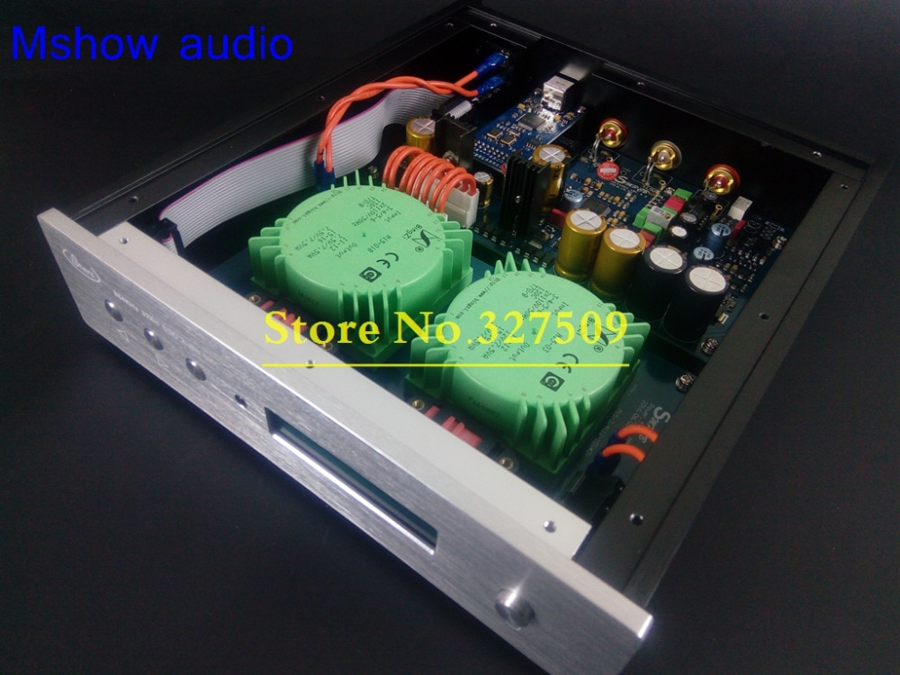 Mshow AK4495SEQ AK4495 ЦАП Декодер AK4118 PCM 384 кГц + XMOS XU208 USB поддержка DSD DSD128 с Apple Remote HiFi аудио|dac