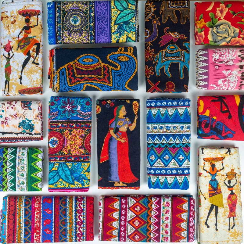Африканская ткань, хлопок, лен, винтажная печать, ткань, сделай сам, ручная работа, текстиль, шитье, пэчворк, для сумок, платье, скатерть 150*50 см