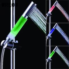 Pomme de douche 3 couleurs 3 couleurs   Système de douche, buse de robinet à changement automatique, filtre à main, Anion SPA salle de bain, pomme de douche, robinet filtrant