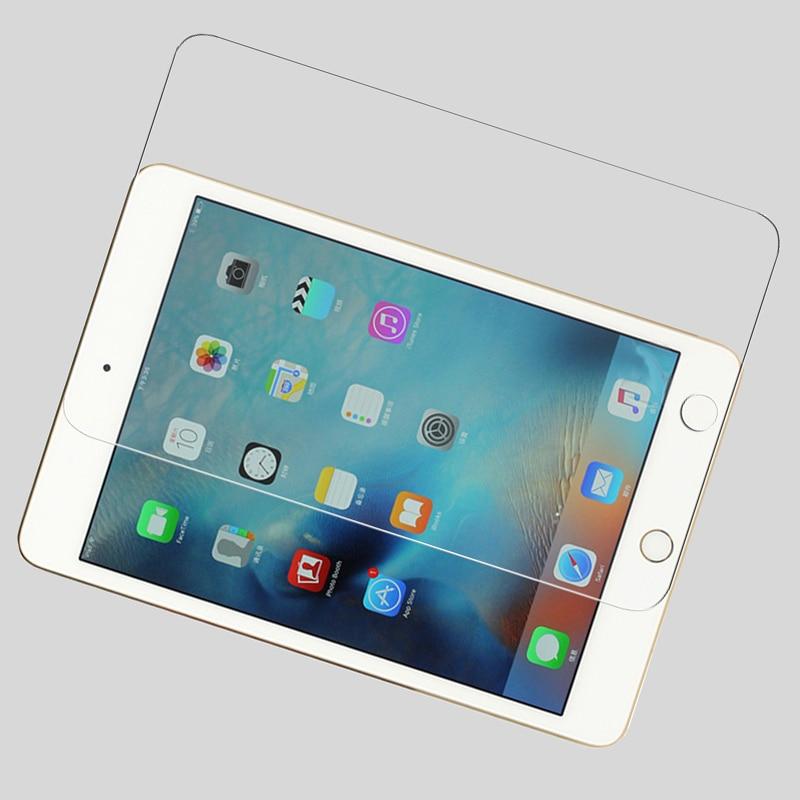 Premium protetor de vidro temperado filme de tela para ipad mini 4 tablet pda tela lcd película protetora + 1pcs botão casa