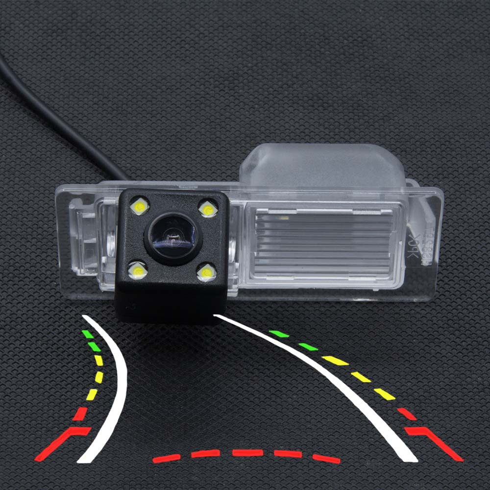 Cámara de pista dinámica con vista trasera de coche para Chevrolet Aveo 2011 2012 2013 2014 Trailblazer Cruze Equinox Trax