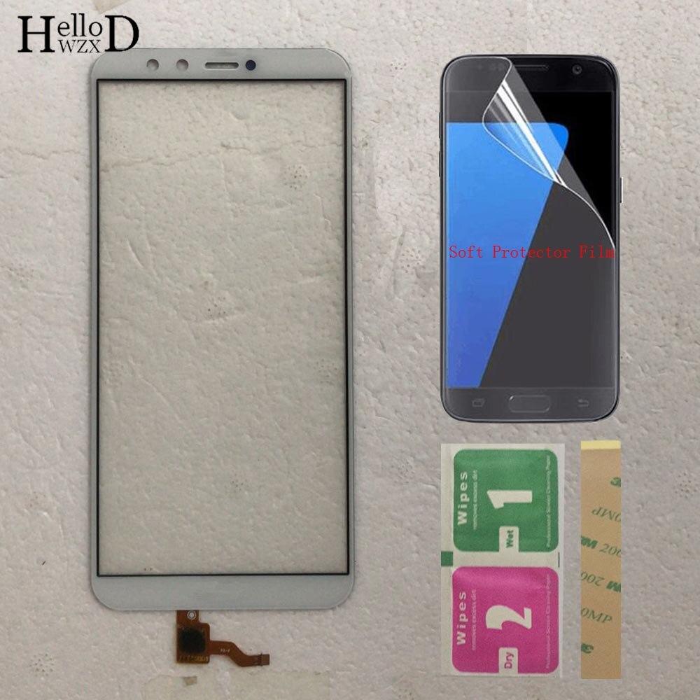 Mobile Touch Screen Para Huawei Honor 9 Lite LLD-L22A LLD-L31 Sensor de Tela De Toque TouchScreen Peças De Vidro Da Frente