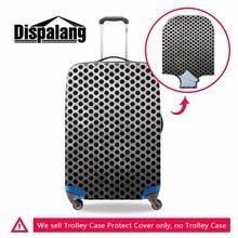Dispalang nouveau à la mode 3D métal à pois aller voyage couvercle de valise épais bagages protecteurs étanche voyage chariot accessoires