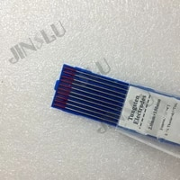 2015 high quality hot sale 2 thoriated wt20 red tip tig welding tungsten electrode 2 0x150mm 225x6