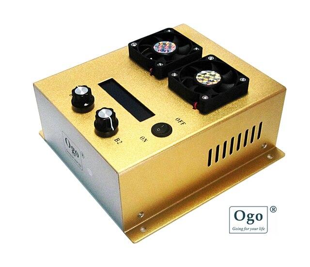 Max 99A контроллер с интеллектуальной функцией ШИМ контроллером OGO ProX, роскошная версия 4,1 с открывающейся настройкой Funtion