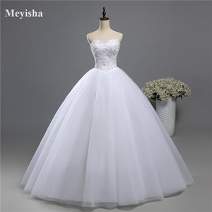 ZJ9066 2019 2020 lace White Ivory Gown pearls Wedding Dresses for bride plus size maxi size 2 4 6 8 10 12 14 16 18 20 22 24 26