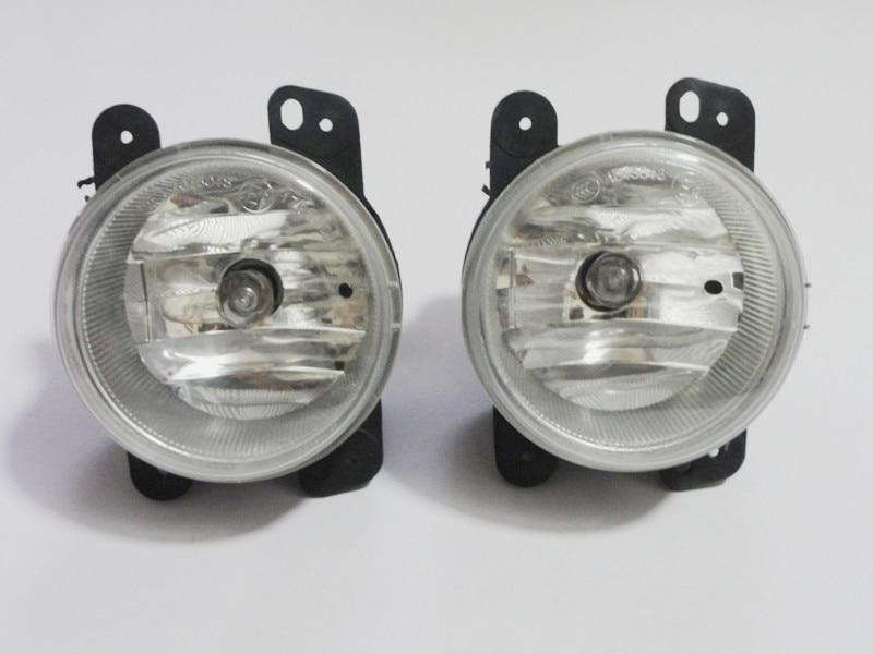 1 par de luces antiniebla halógenas para coche con bombillas ensambladas para Chrysler PT Cruiser 2006-2009