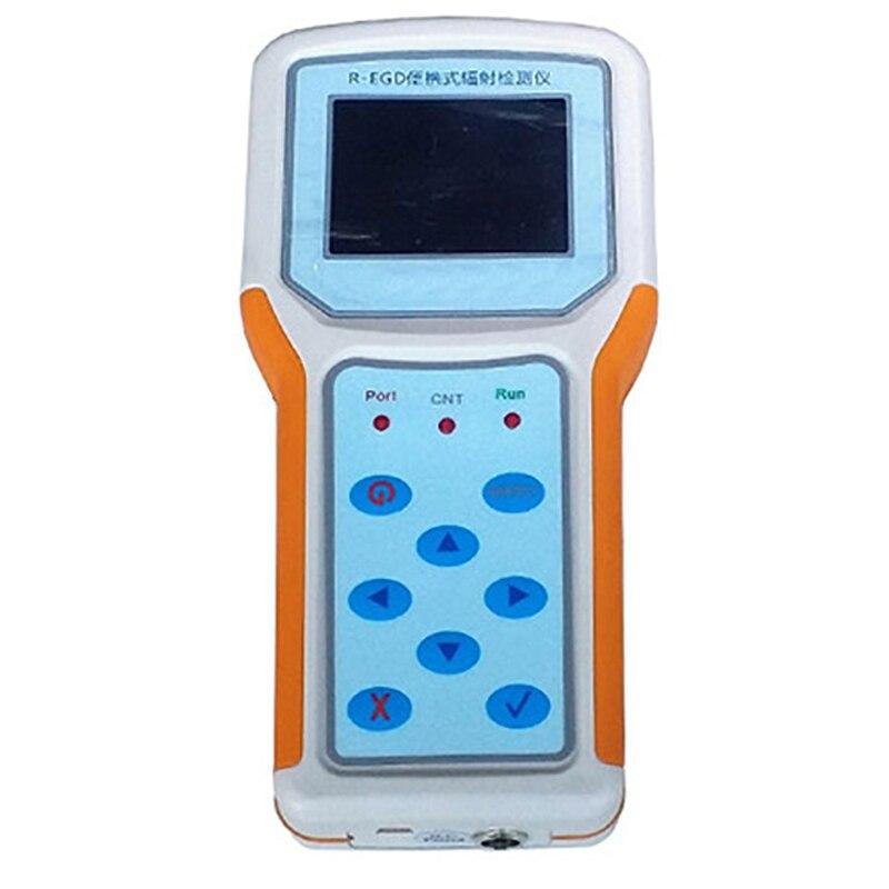 Detector de Radiação Instrumento Nuclear Detector Dosímetro Radioatividade R-egd Portátil Contendo Imposto Ray
