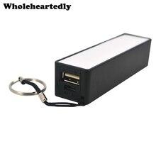 Handy Tragbare Batterie Power Bank Box Backup Batterie Ladegerät Halter 18650 Batterie Storage Box Fall