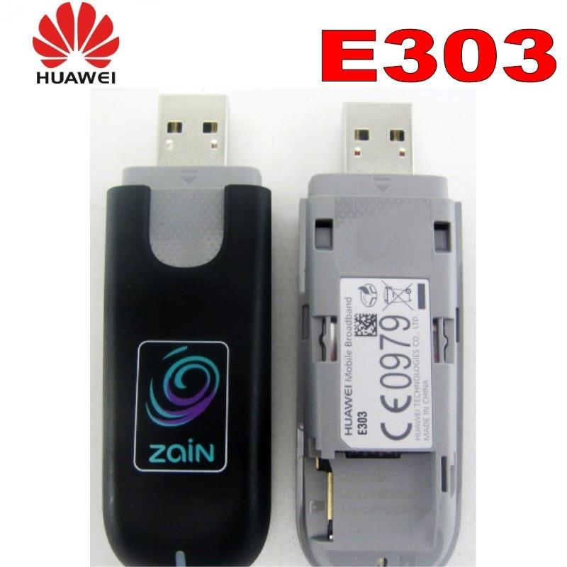 Monte de 48 pcs New Original HUAWEI E303 3G Modem HSDPA 7.2 Mbps Unlock HUAWEI E303 3G USB dongle