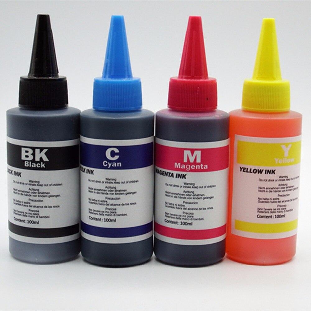 Универсальная чернильная краска для принтеров CANON премиум чернила для всех принтеров CANON СНПЧ бутилированные чернила Набор для заправки