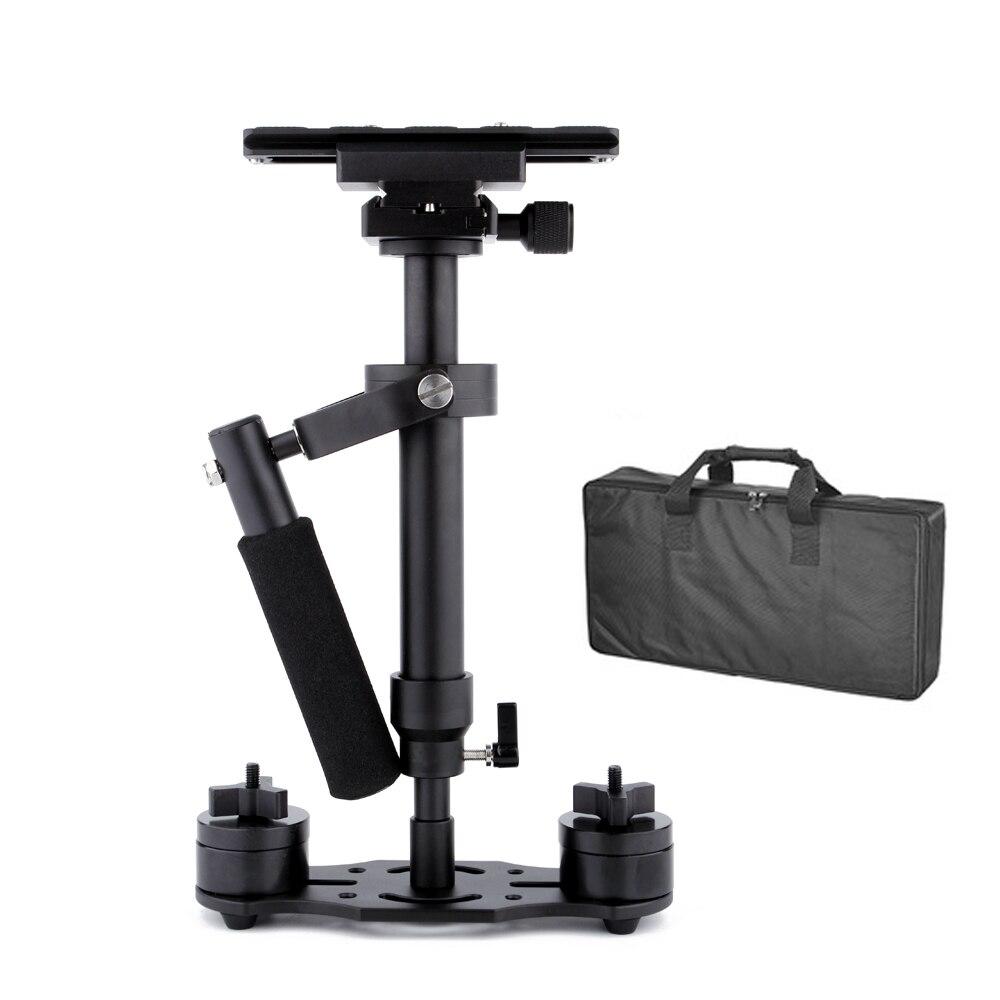 S40 Steadycam S-40 + Plus estabilizador de mano de aluminio Steadicam cámara de vídeo DSLR fotografía CD50