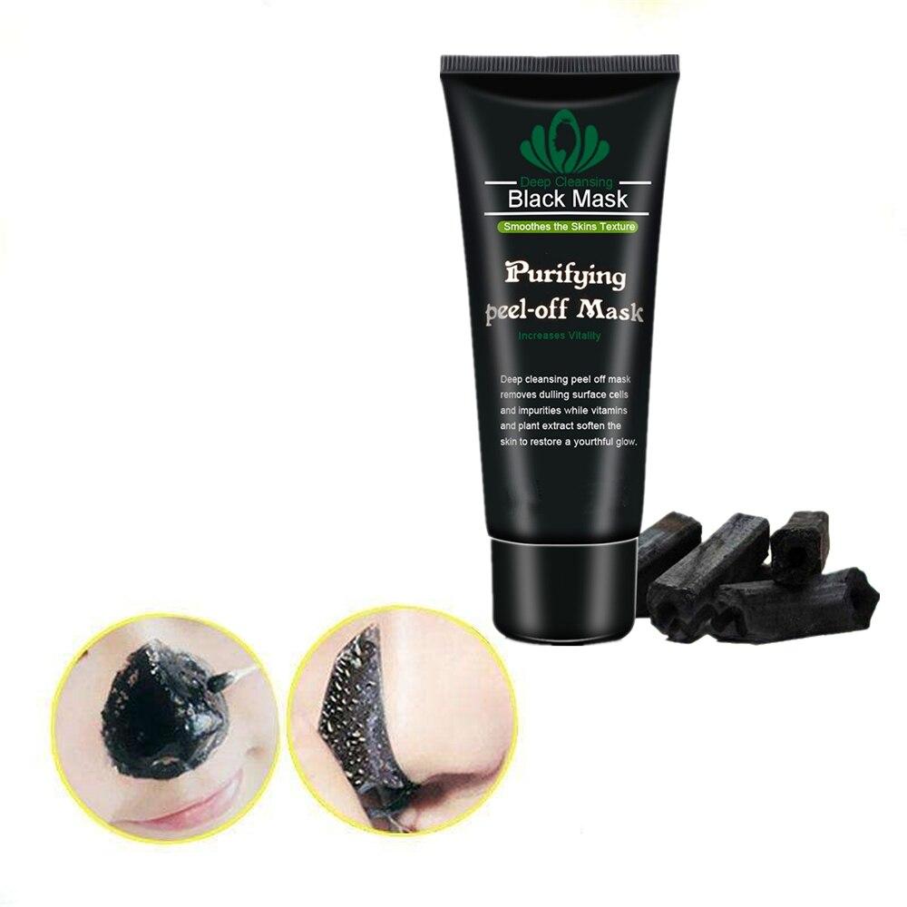 Peel Off Charcoal Blackhead Remover Mask Nose Black Mask Face Care Mud Acne Treatment Skin Care Faci