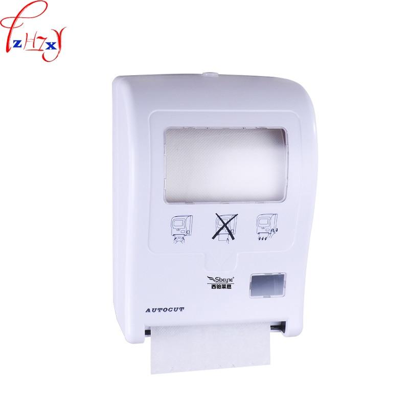 1 ud. Cortadora de papel automática manual X-3350 Pared de baño Caja de papel higiénico cortadora de papel hecha a mano DC 4*1,5 V