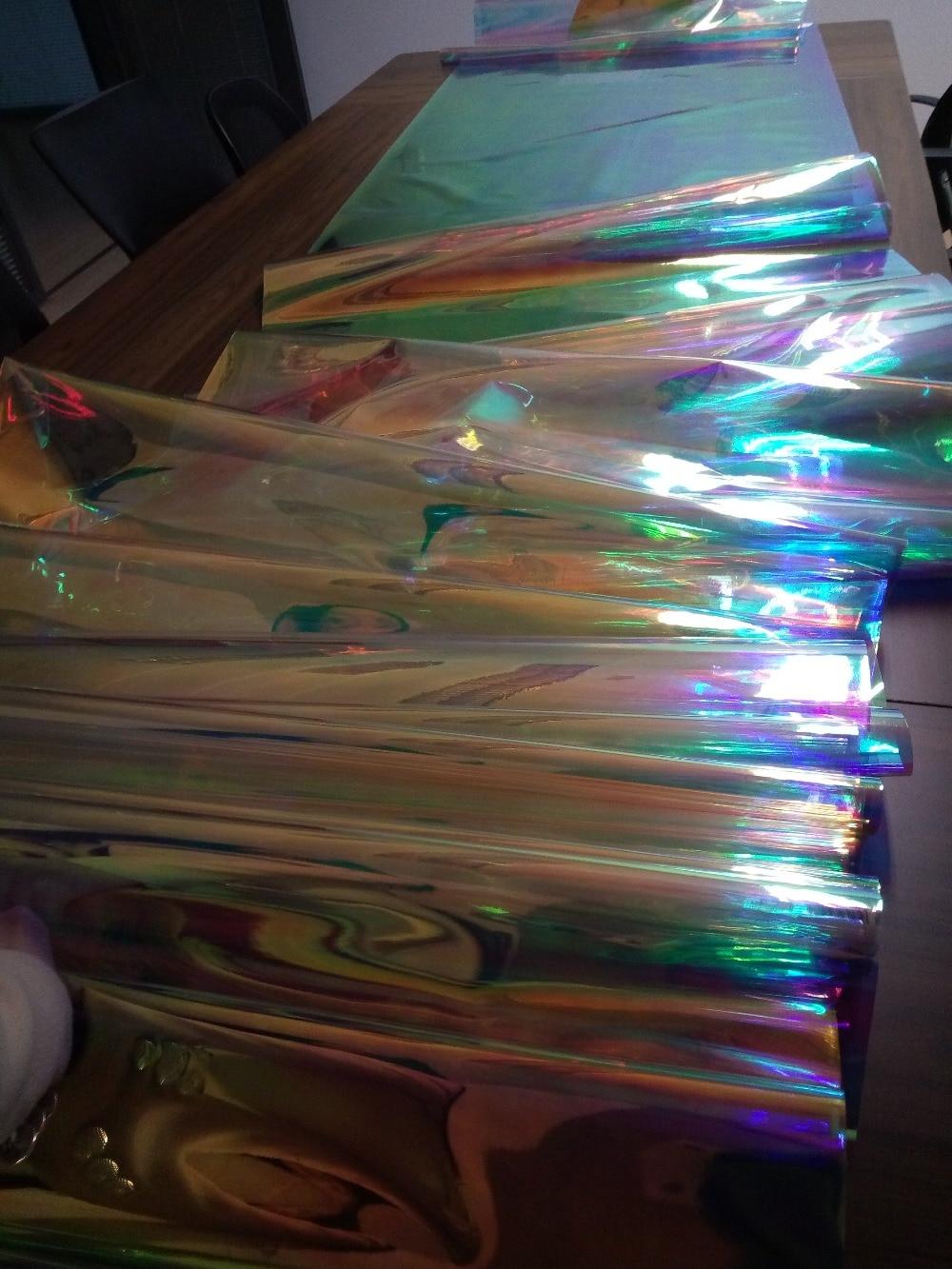 Película de fantasía 26 MIC JRB-2690-01 Rainbow Magic iridisent Angelina 1020mm W * 100m L para una aplicación increíble