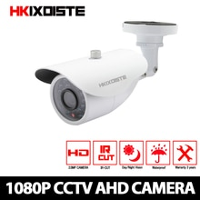 HKIXDISTE Home 1/3 sensor 1080P AHD Camera CCTV IR Cut Filter Camera AHD 1080P Indoor outdoor Weaterproof Security Camera