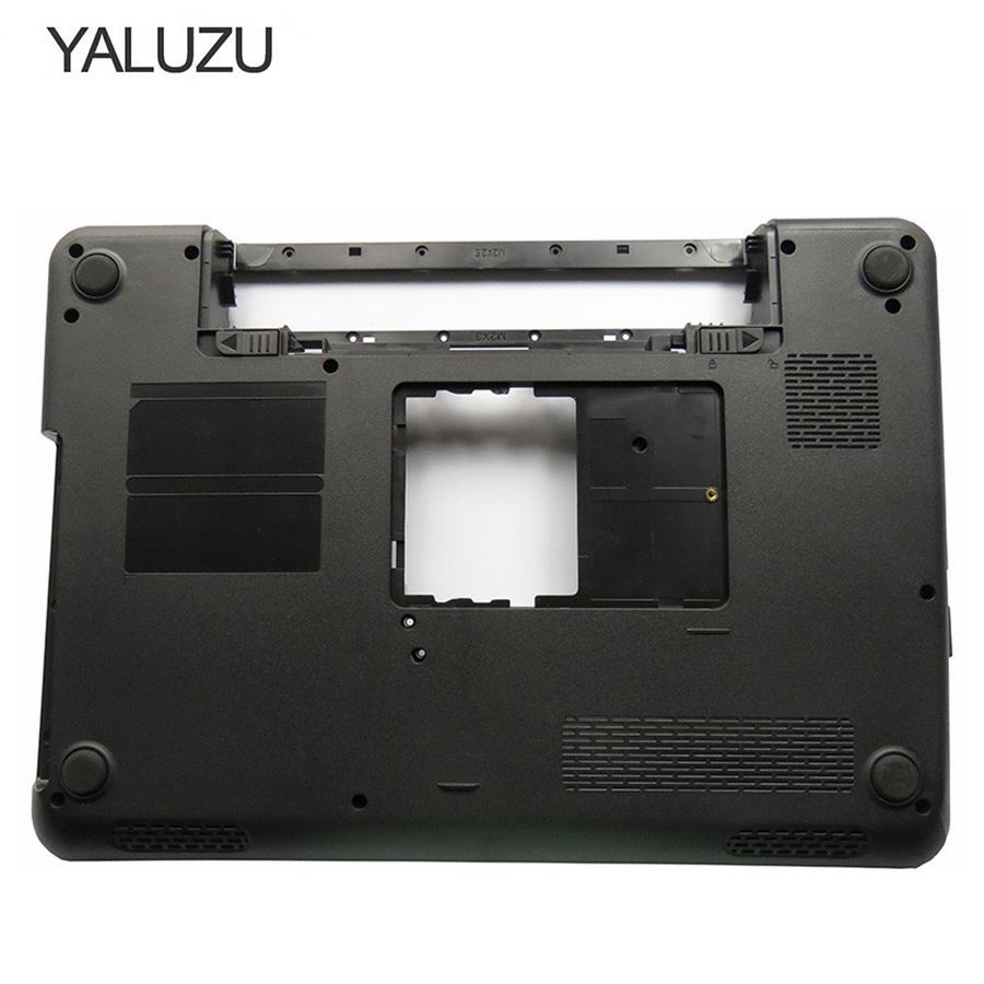YALUZU-غطاء قاعدة لاب توب ، أسود ، سلسلة ، لجهاز Dell Inspiron 14R N4010 ، غطاء D ، P/N 0GWVM7 0GWVH7 ، جديد 95%