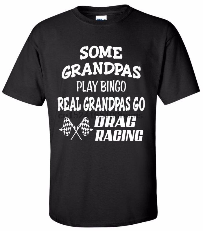 Algunos abuelos Bingo Real abuelos carreras camiseta Street Outlaws carrera de