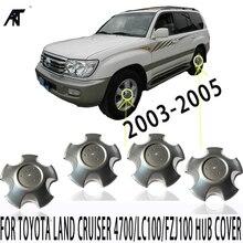 4 шт. центральные колпачки для обода колеса для TOYOTA Land Cruiser 4700/LC100/FZJ100 2003 2005 42603 60570 колпачок ступицы