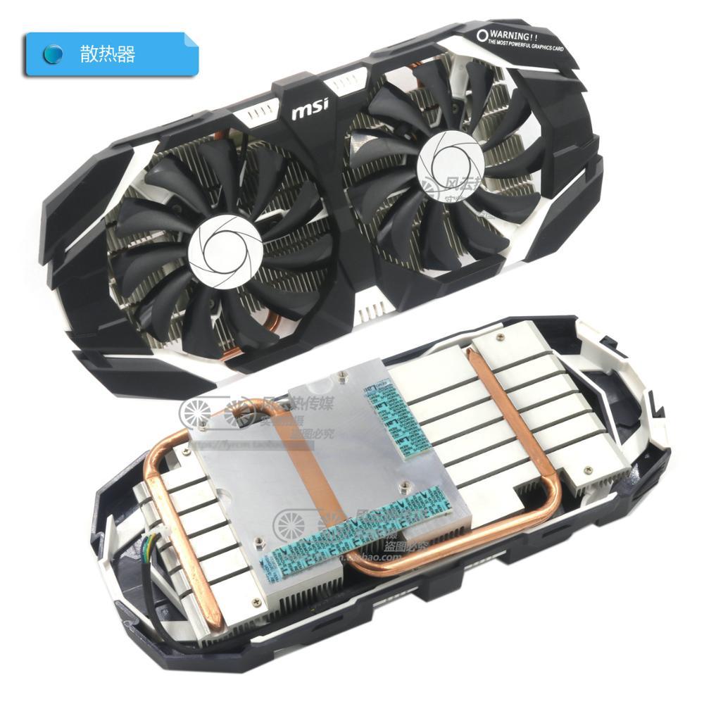 Новый оригинальный охладитель видеокарты MSI GTX1060 3G 6G