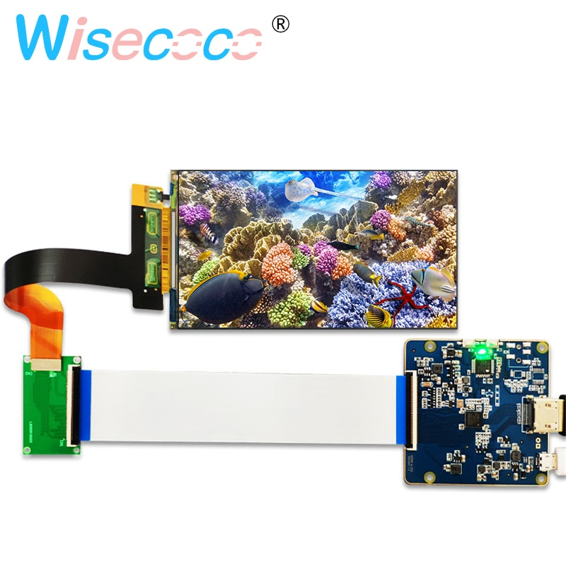 5 5 inch 2k lcd module lcd screen display and hdmi mipi driver board replacement for wanhao duplicator 7 3d printer vr glass 5.5 inch 2K LCD screen 1440x2560 LS055R1SX03 display with  to MIPI controller board for 3d Printer Projector Parts