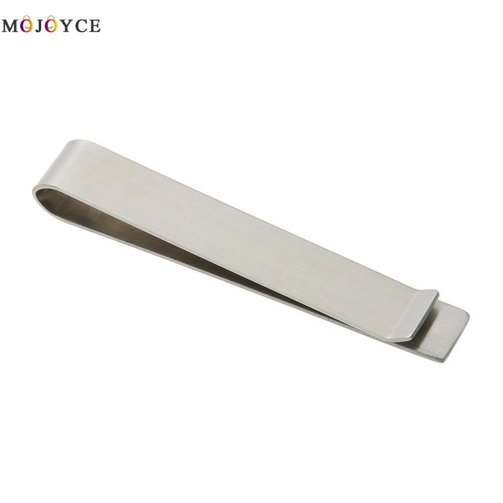 Clip de dinero de acero inoxidable Clip de carpeta de cartera Clip de Collar sencillo Clip de dinero Clip de Metal de acero inoxidable