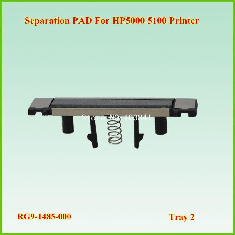 10 piezas Compatible RF5-2435-000 RG9-1485-000 RF5-4120-000 bandeja 2 separación Pad para HP 5000 impresora 5100 espaà a