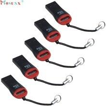 Mosunx Simplestone New High Speed USB 2.0 Mini Micro SD T-Flash TF M2 Memory Card Reader 0308