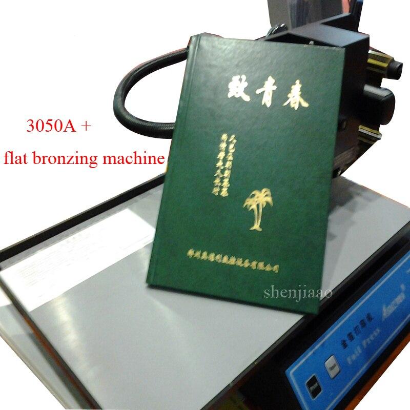 آلة ختم ساخنة جديدة 220 فولت ، طابعة أوراق رقمية ، بدون لوحة ، ورق حراري ، بلاستيك ، جلد ، دفتر ، فيلم ، 3050A