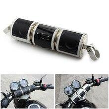 Motocicleta alto-falante bluetooth v2.1 + edr áudio resistente à água moto falante estéreo moto fm rádio aux usb tf mp3 player