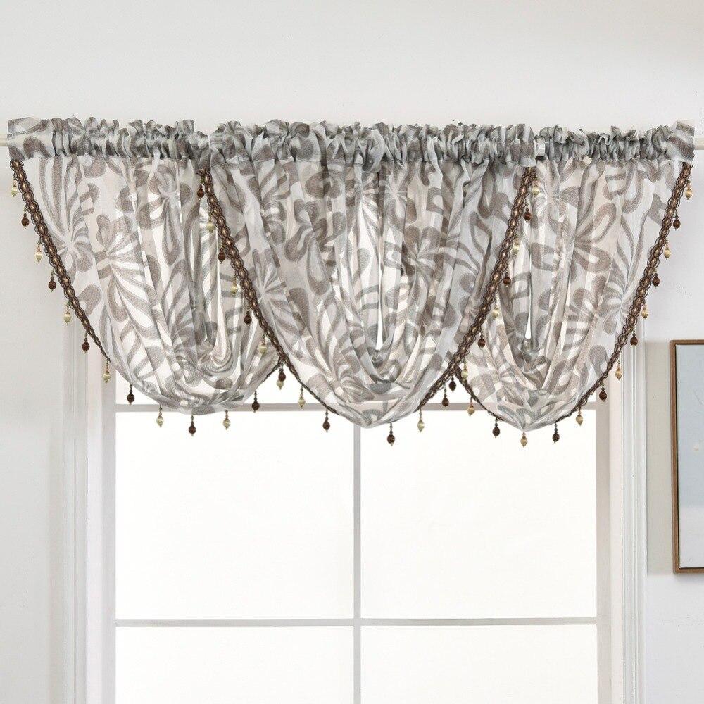 Льняная жаккардовая ткань для украшения комнаты полупрозрачная искусственная