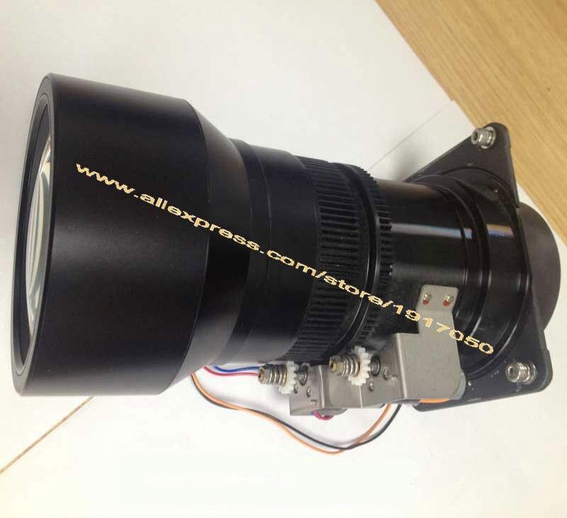 LNS-T32 lente del proyector para SANYO PLC-XP100L/XP200L Ultra largo Zoom lente Unidad óptica montaje 112mm-155mm
