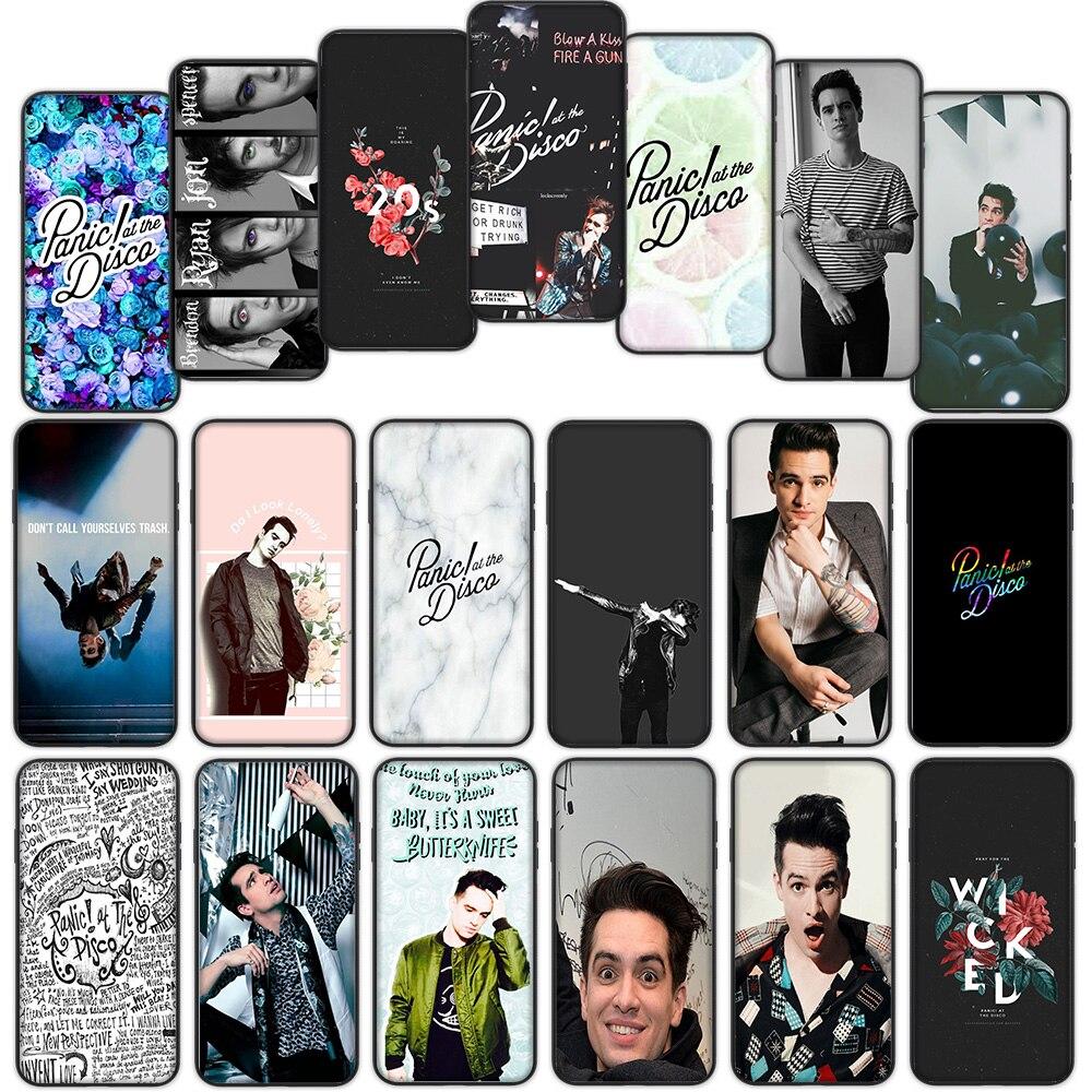Panic At The Disco Soft Cover Case for Xiaomi Mi6 Mi9 Mi8 Lite SE A1 A2 Lite Pocophone F1 MAX 3