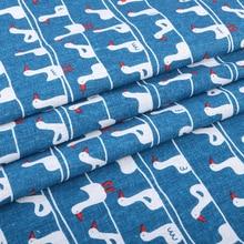 Nanchuang Cotton Linen Fabric Handmade Hometextile Sewing Patchwork Cloth For Dress Sofa Shirt Sheet Bag Dolls Material 50x148cm