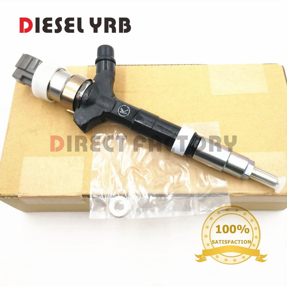 Inyector de combustible genuino y nuevo 095000-0940,095000-0941 para juguetes/OTA 4Runner 2KD-FTV 2001/08
