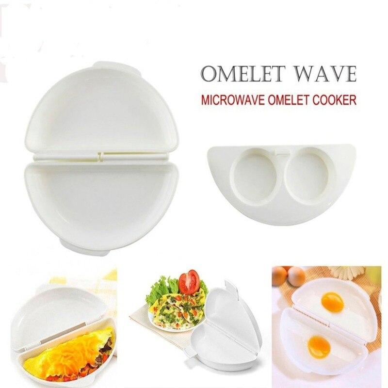 Антипригарный бойлер для яиц PP контейнер-Форма кольцо для яиц круглые многоярусные жареные яйца лоток Микроволновая омлет тарелка кухонный инструмент для приготовления пищи