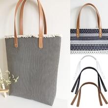 2Pcs/Pair 60cm PU leather Bag strap Shoulder Bag Handle Belt Band for women Handbag Handmade DIY Bel