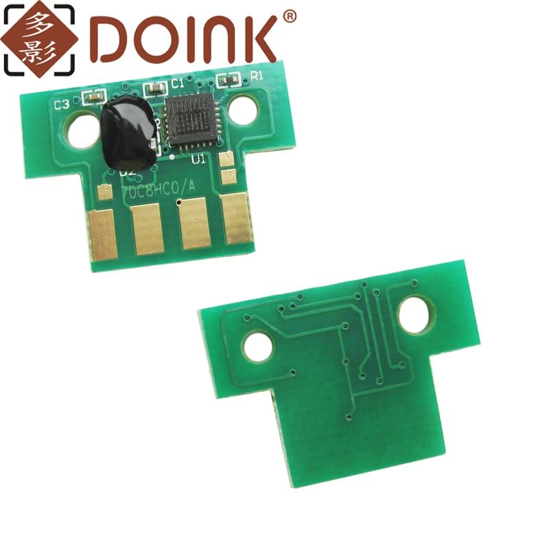 4 Uds CX310 CHIP para lexmark CX310 CX410 CX510 CHIP 80C1SK0 80C1SC0 80C1SM0 80C1SY0 2,5 K 2K NA