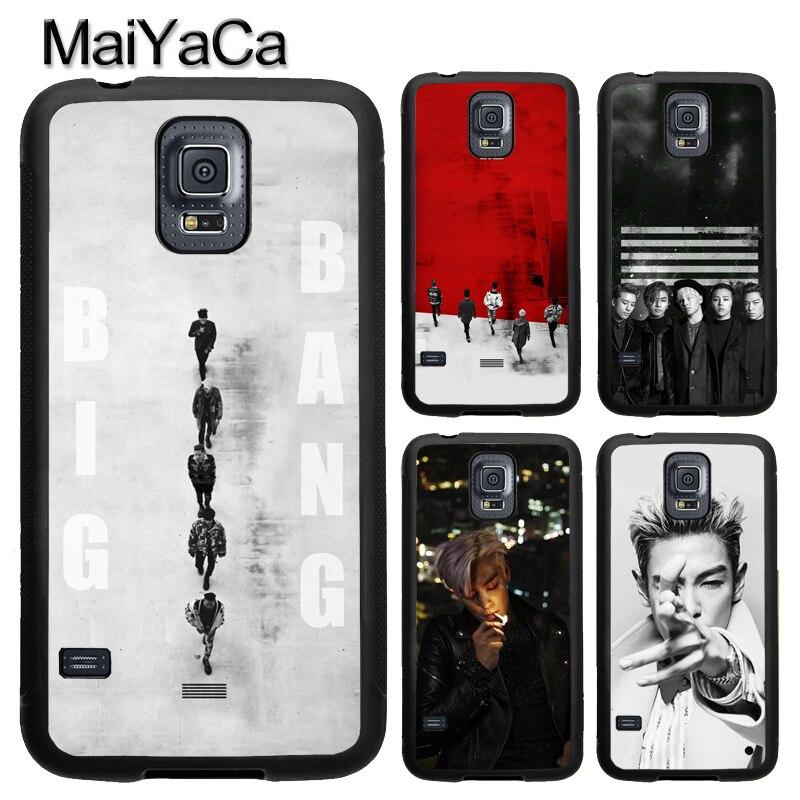 T.O.P BIGBANG Kpop G-Dragon чехол для Samsung Galaxy A71 A51 A50 A70 A10 A20 A30S A40 Note 10 S8 S9 S10 S20 Ultra Plus S10e S7