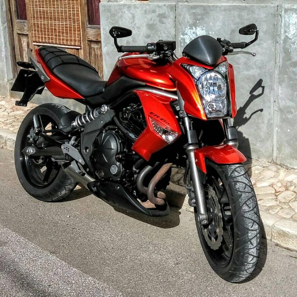 Motorcycle Bike Cruiser Chopper ATV Aluminum 7/8'' 22mm Bar End Side Rear View Mirror For BMW Ducati Aprilia Victory Triumph
