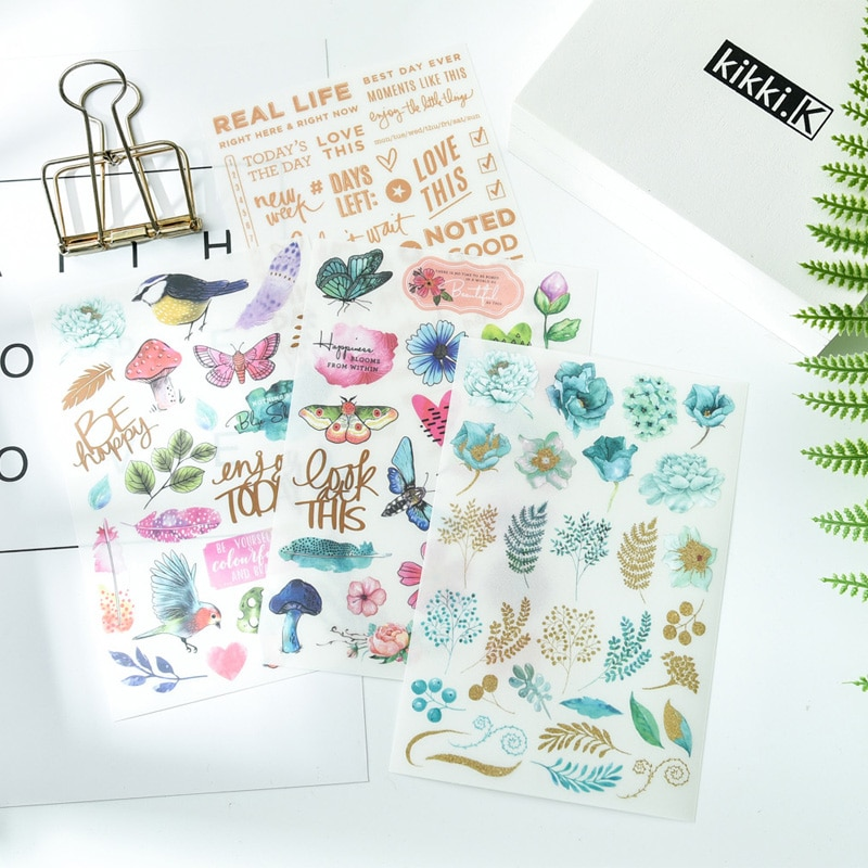 ZFPARTY Enjoy Today Набор наклеек для скрапбукинга/Happy planner/Создание карт/Журнал проект