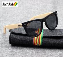 JackJad Fashion Men Women JJ2140 Traveler Style Sunglasses Vintage Classic Brand Design Sun Glasses 54mm Oculos De Sol With Case