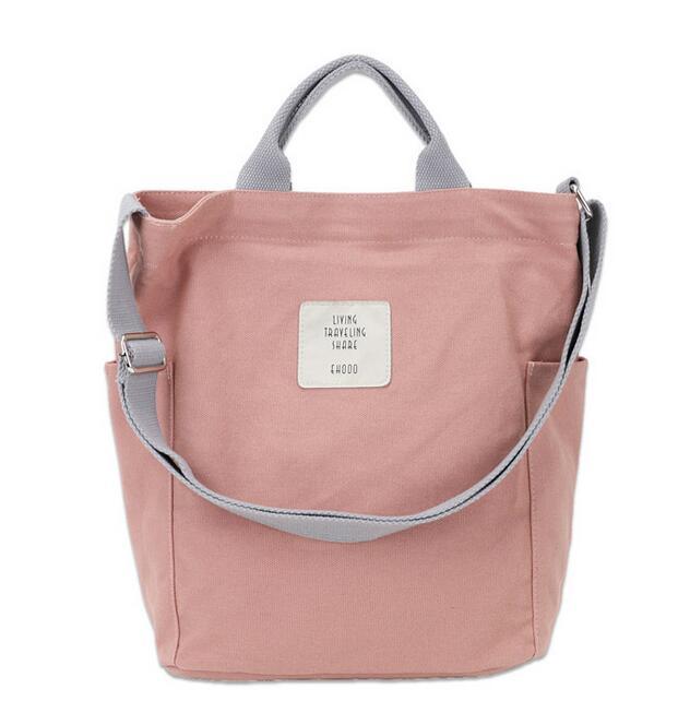 Холщовая Сумка на плечо в Корейском стиле, на молнии, роскошные женские сумки, дизайнерские женские сумки-мессенджер, женская простая сумка с буквенным принтом